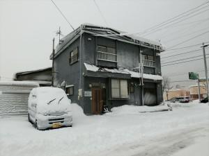 冬の函館クロスロード外観