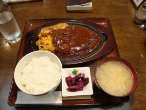 洋食の久保ハンバーグ定食